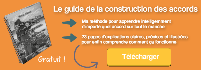 Accès gratuit au guide ultime de la construction des accords.