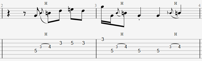 blues bars 2 et 3